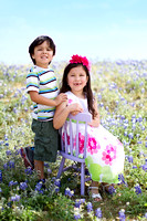 K. & K. Bluebonnet Session | San Antonio Children's Photographer